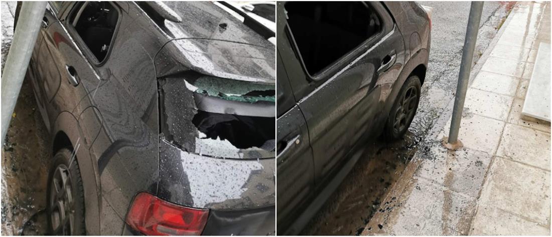 Φλαμπουράρης: ποιος κλέφτης; Γερανός πήρε το αμάξι, χωρίς να πάρουν χαμπάρι οι φρουροί του!