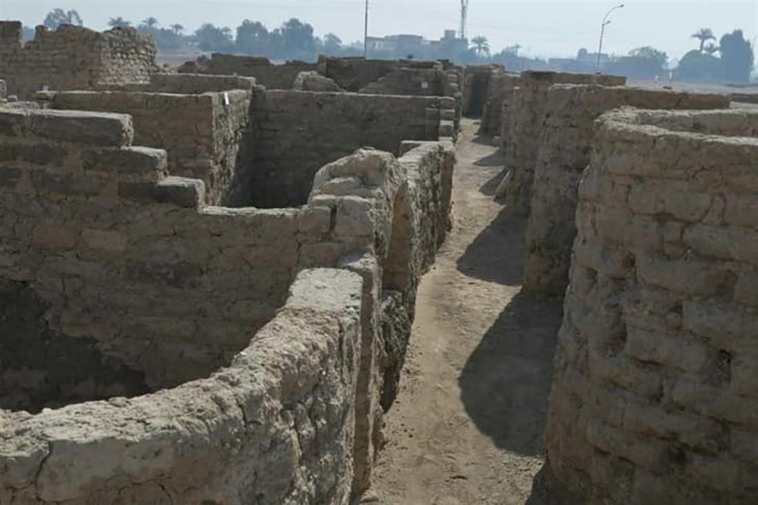 Αίγυπτος - Άτεν - χρυσή πόλη