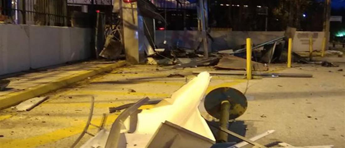 Έκρηξη σε ΑΤΜ στην Παλλήνη