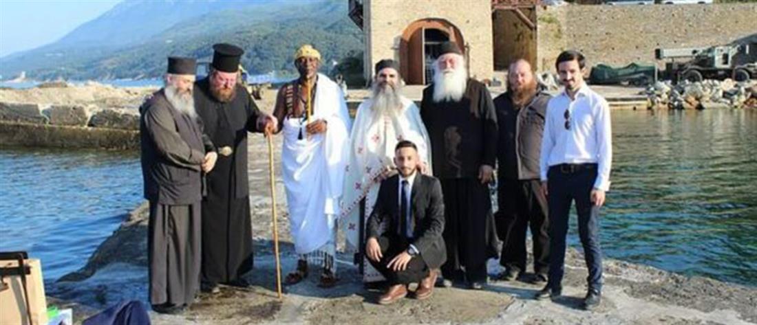 Βασιλιάς βαπτίστηκε Χριστιανός στο Άγιο Όρος (εικόνες)