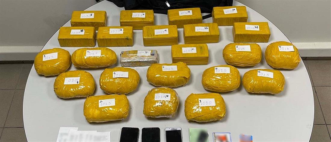 ΕΛΑΣ: κατασχέθηκαν δεκάδες κιλά ηρωίνης υψηλής καθαρότητας