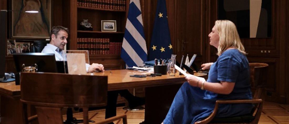 Μητσοτάκης: η Ελλάδα θα γίνει η ευχάριστη έκπληξη της Ευρωζώνης