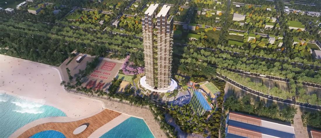 Ελληνικό -  Marina Tower - αρχιτεκτονικά σχέδια - ουρανοξύστης