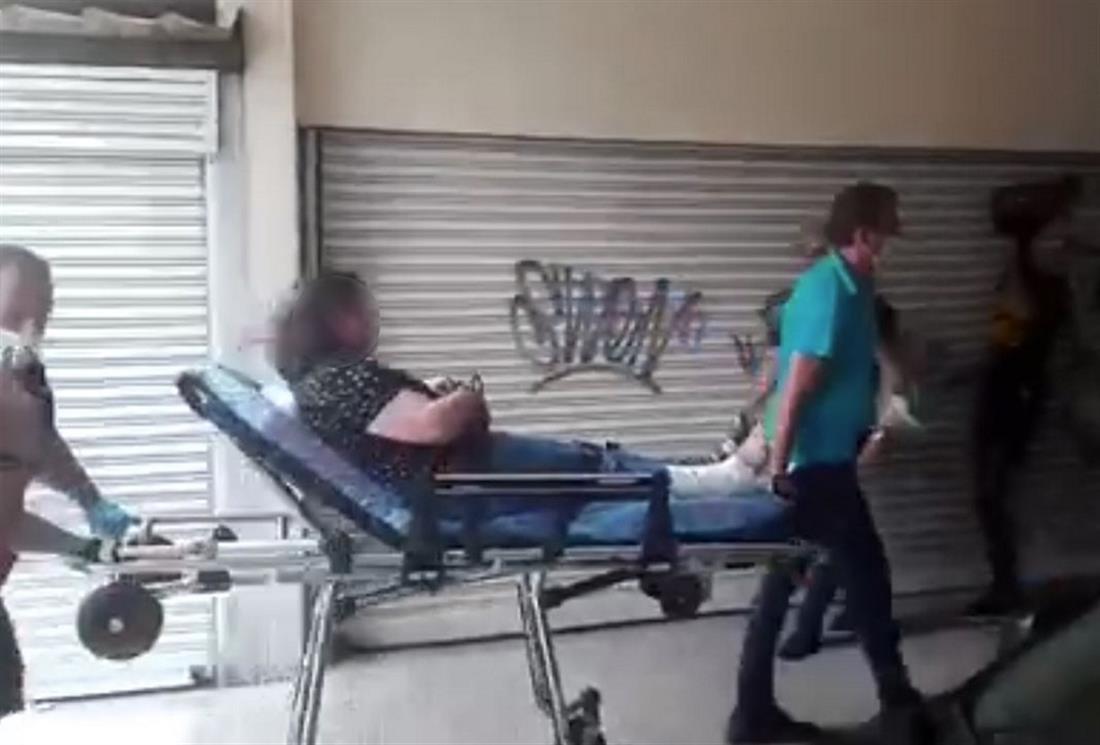 Κοζάνη - επίθεση με τσεκούρι - τραυματίας