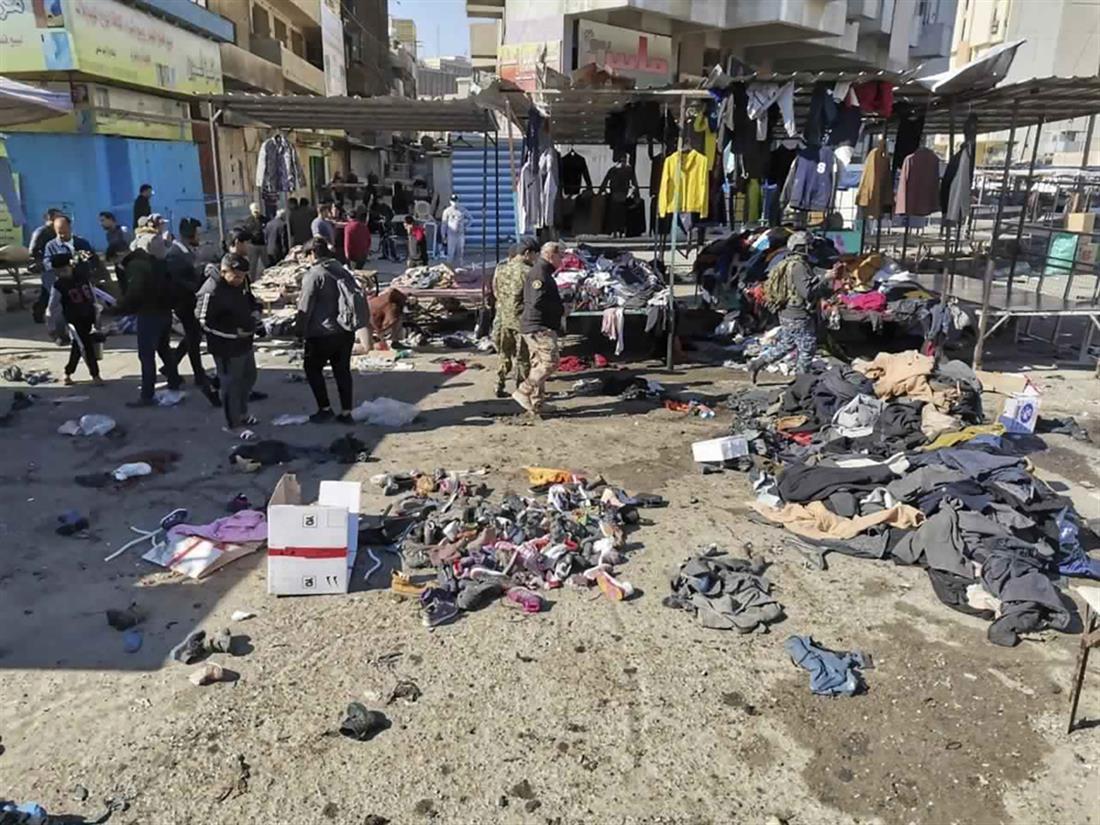 Ιράκ - επιθέσεις αυτοκτονίας