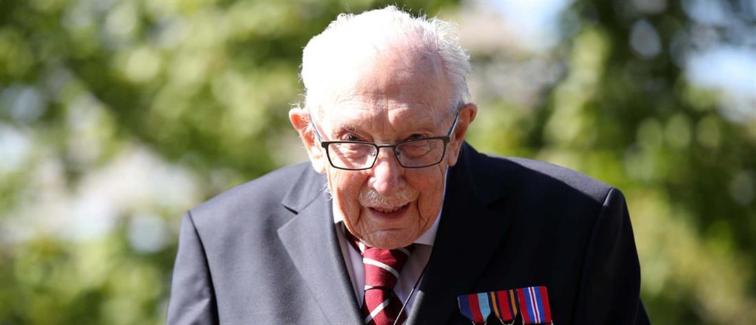 Τομ Μουρ - βετεράνος  Β Παγκόσμιου Πολέμου
