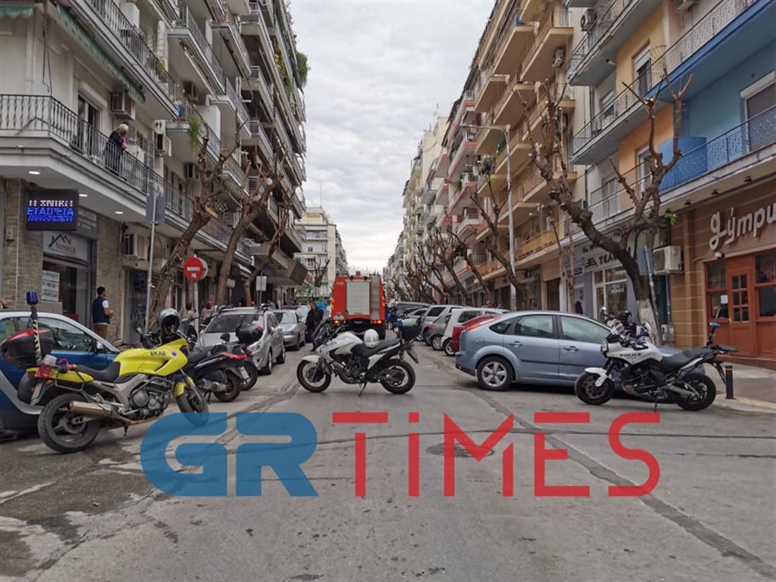Έκρηξη - διαμέρισμα 0 Θεσσαλονίκη