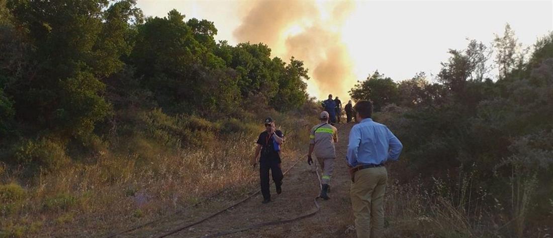 Συναγερμός στην Πυροσβεστική για πυρκαγιά στη Ζάκυνθο (εικόνες)