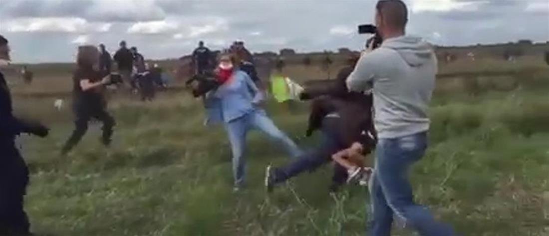 «Δεν είμαι ρατσίστρια» λέει η εικονολήπτρια που έβαζε τρικλοποδιά σε πρόσφυγες
