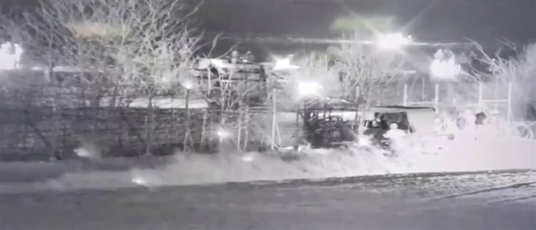 Έβρος: Τουρκικό τεθωρακισμένο επιχείρησε να γκρεμίσει τμήμα του φράχτη (βίντεο)