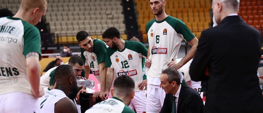 Euroleague – Παναθηναϊκός: Αναβολή αγώνων λόγω κορονοϊού