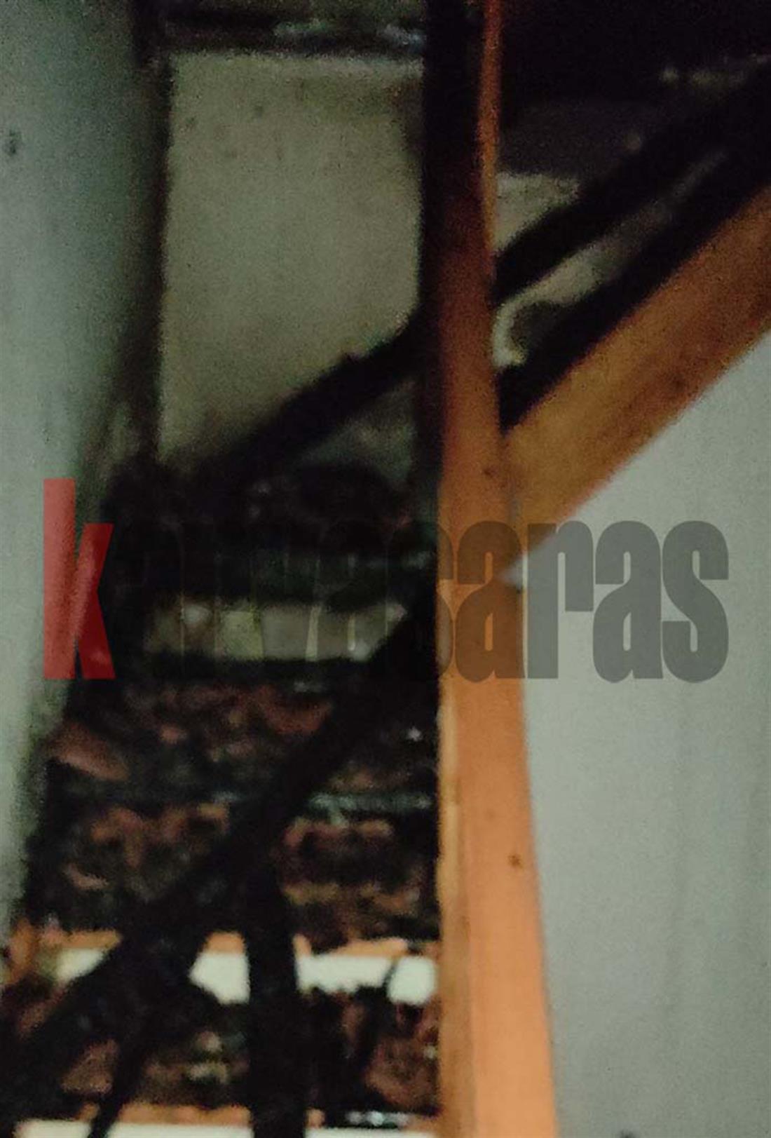 Μεσολόγγι - Σταμνά - φωτιά - σπίτια