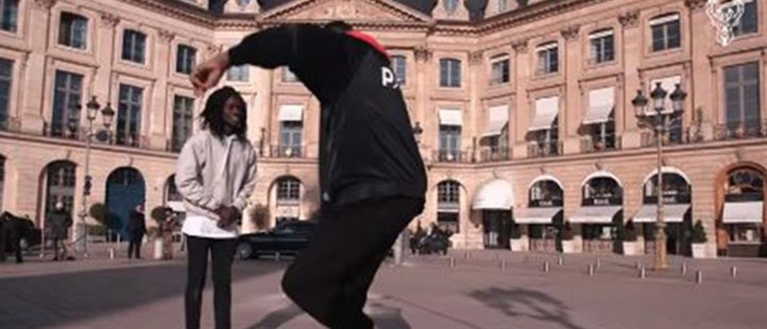 Το βαρύ ζεϊμπέκικο του Θανάση Αντετοκούνμπο στο Παρίσι (βίντεο)
