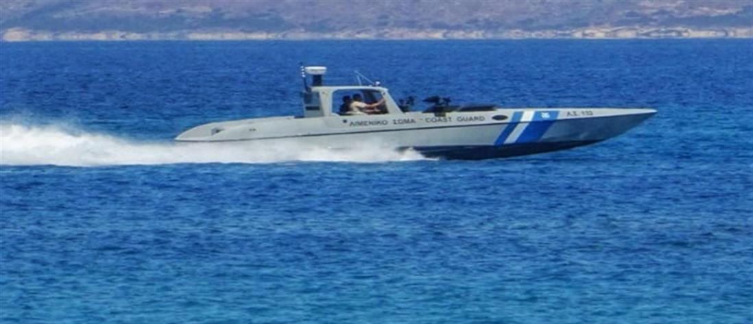Περιπέτεια στη θάλασσα για δυο επιβάτες λέμβου