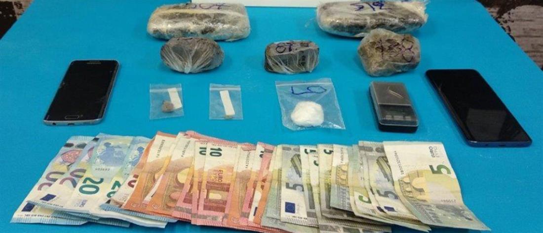 Μπαράζ απο συλλήψεις για ναρκωτικά και λαθραία τσιγάρα