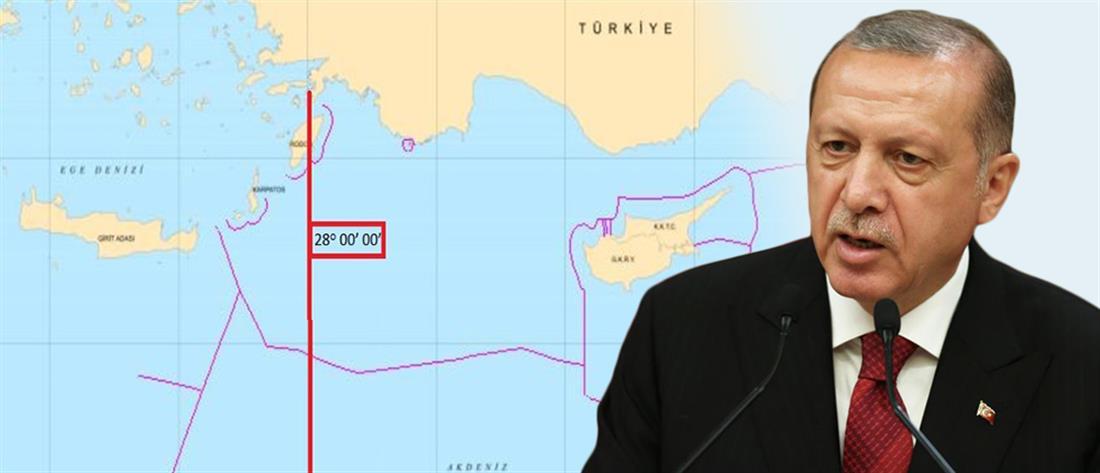 Με πολεμικές ιαχές απειλεί ο Ερντογάν