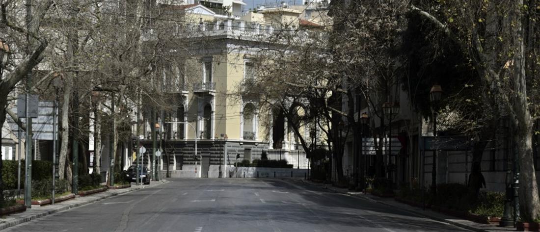 Άδειασε την Αθήνα ο κορονοϊός (βίντεο)