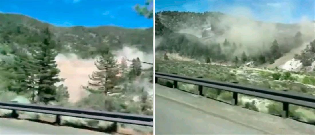 Ισχυρός σεισμός στην Καλιφόρνια (βίντεο)
