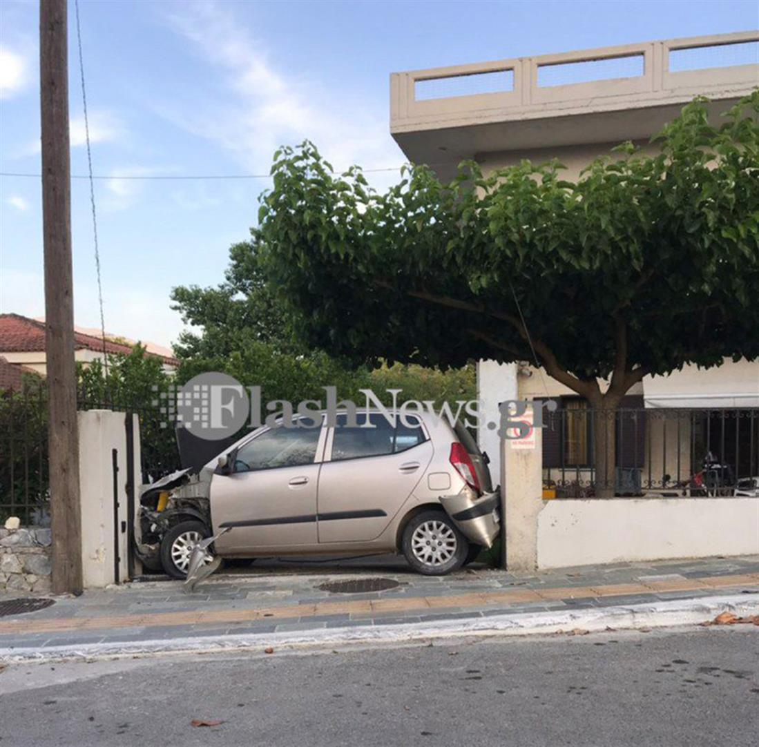τροχαίο - Χανιά - ατύχημα - μεθυσμένος - Αστυνομικό τμήμα