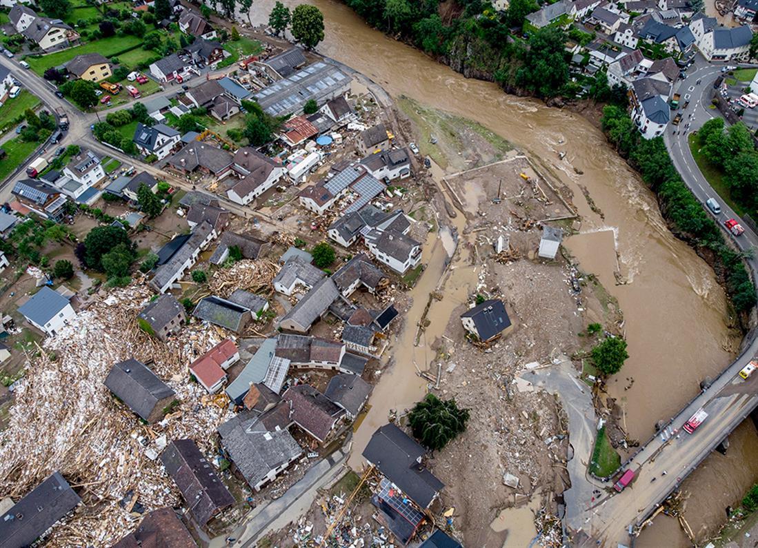 AP - Γερμανία - πλημμύρες