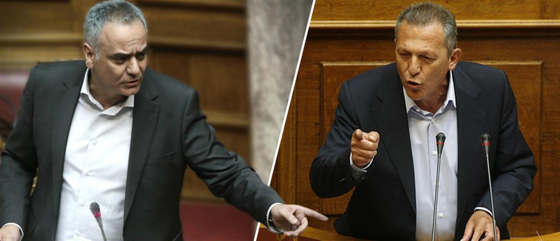 """""""Μαλλιά κουβάρια"""" Σκουρλέτης – Παφίλης στην Βουλή"""