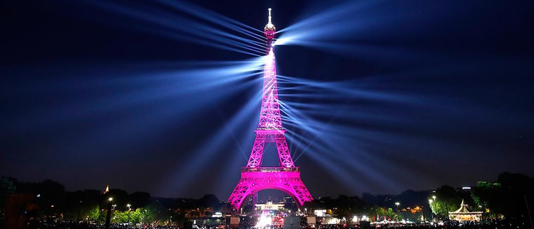 Φαντασμαγορικό... πάρτι για τα 130ά γενέθλια του Πύργου του Άιφελ (εικόνες)