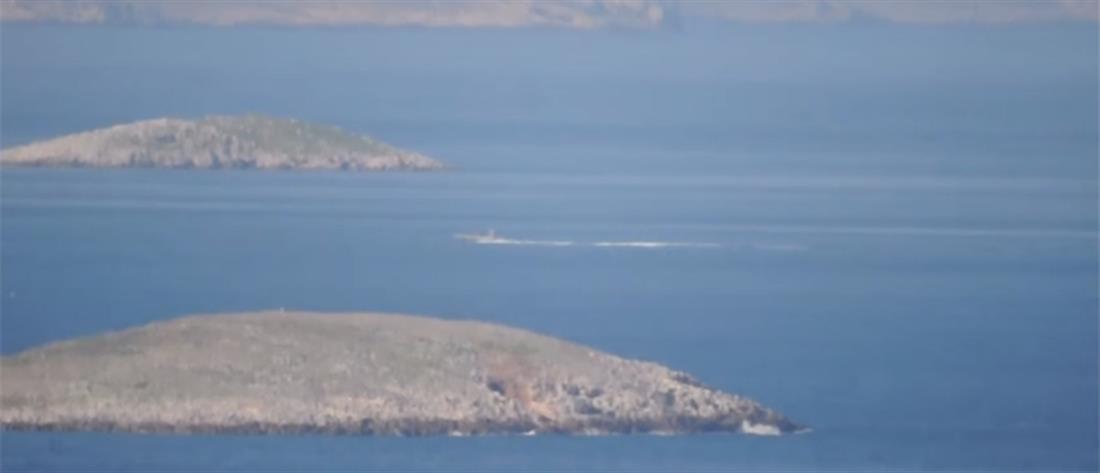 Λιμενικό: Τούρκοι παρενόχλησαν περιπολικό σκάφος μας στα Ίμια