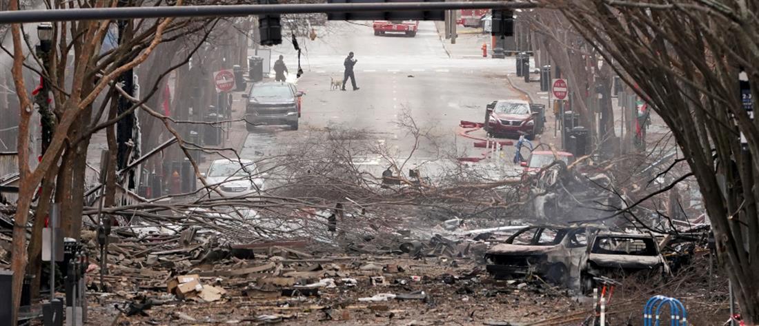 Νάσβιλ: Σε ενέδρα θανάτου παραπέμπει η έκρηξη (εικόνες)
