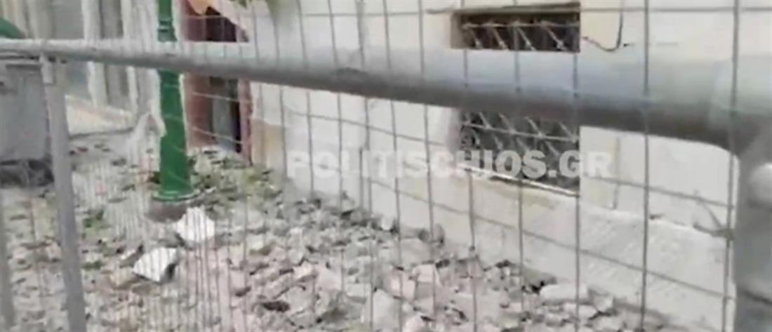 Σεισμός στην Σάμο: Ζημιές και στην Χίο (εικόνες)