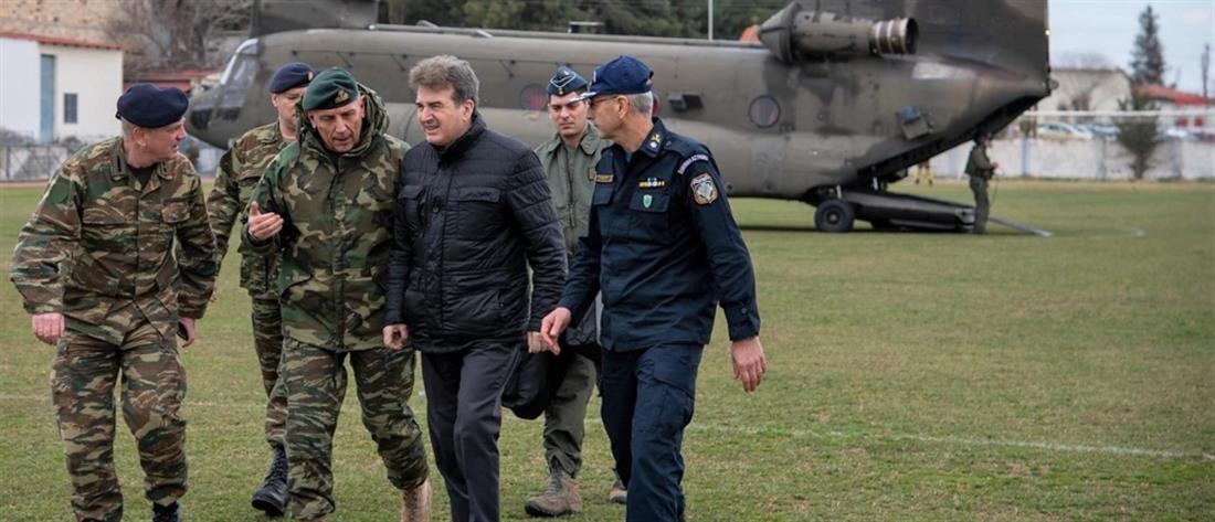 Έβρος - Χρυσοχοΐδης: Ο φράχτης θωρακίζει τα σύνορα της χώρας