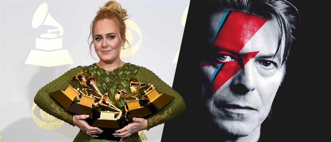 Adele και Bowie πρωταγωνίστησαν στα Grammy (βίντεο)