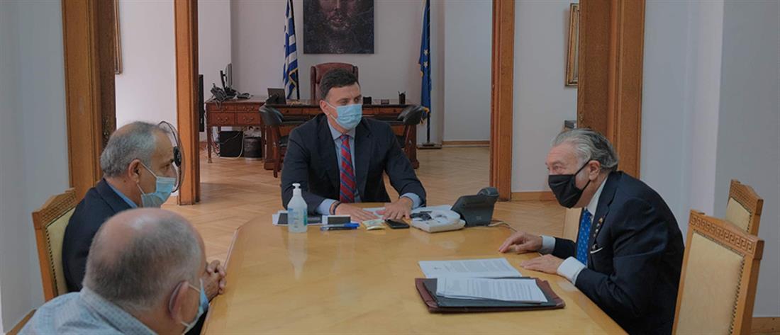 Κικίλιας: Συνάντηση με τον Πρόεδρο του Κεντρικού Ισραηλιτικού Συμβουλίου