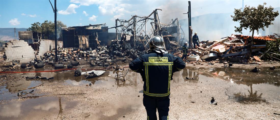 Ασπρόπυργος: το 112 έστειλε μήνυμα για πιθανή έκρηξη από την φωτιά