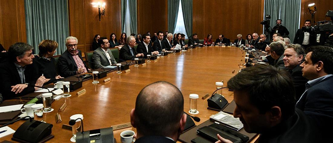 Αντιδράσεις της αντιπολίτευσης για τις εξαγγελίες Τσίπρα στο Υπουργικό Συμβούλιο