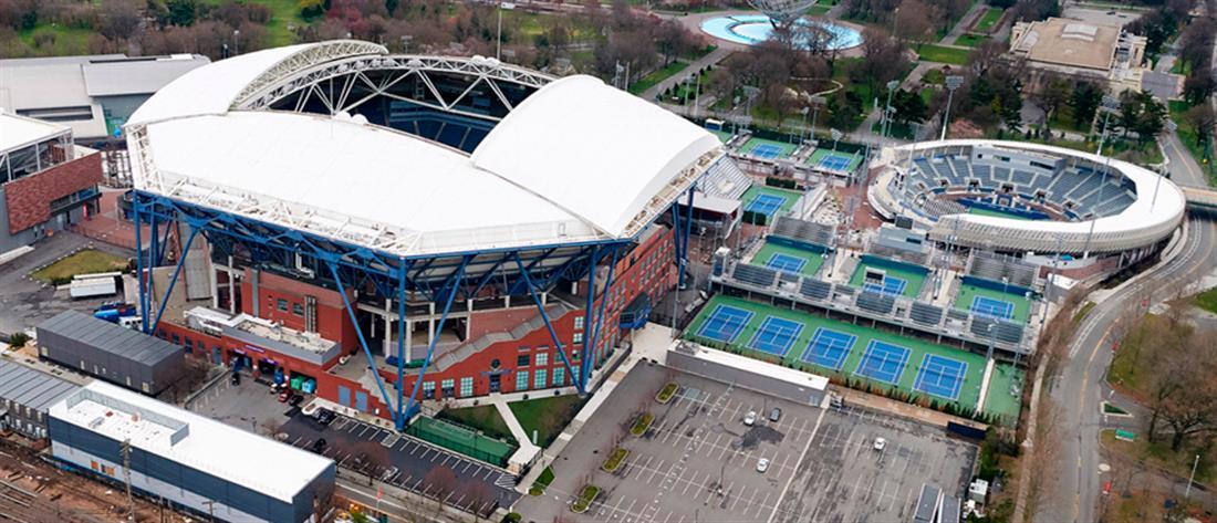 US Open: Αίθουσα τένις μετατρέπεται σε νοσοκομείο