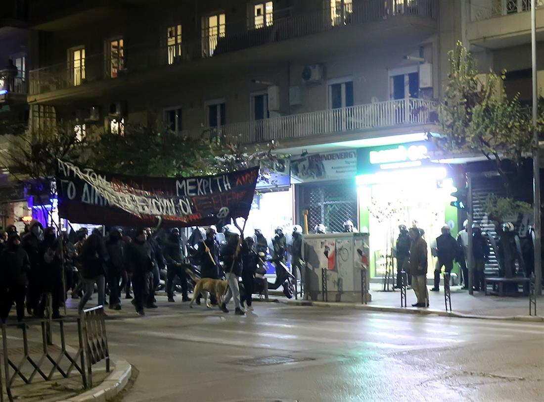 Πορεία - Επέτειος Γρηγορόπουλου - Θεσσαλονίκη