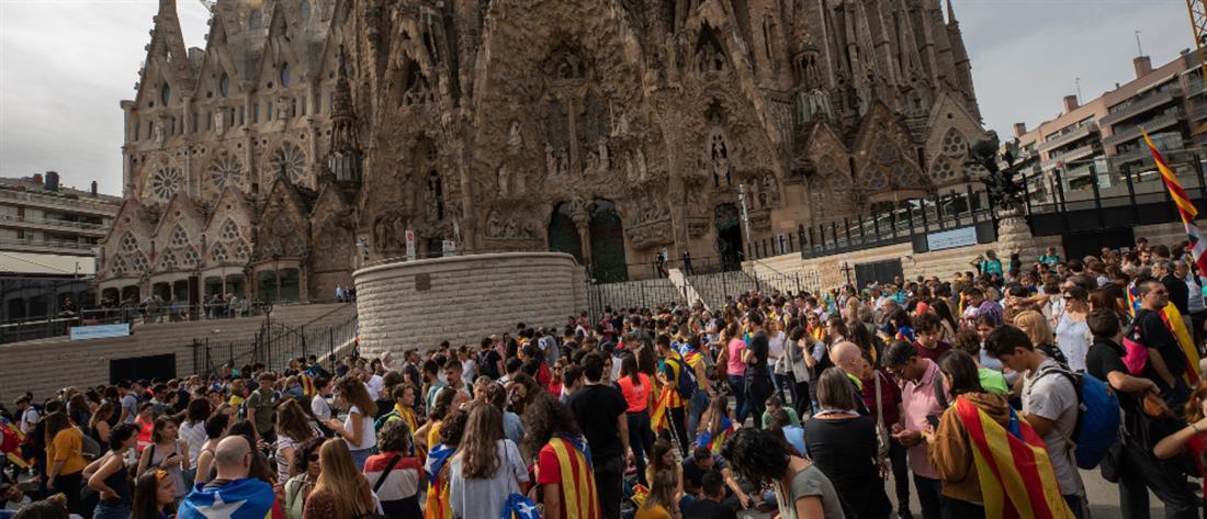 Αναβρασμός στην Βαρκελώνη: Έκλεισε η Σαγράδα Φαμίλια (βίντεο)