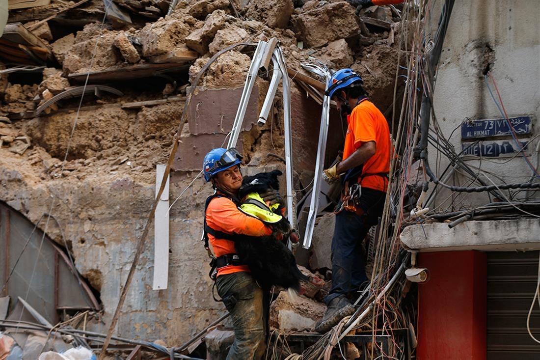 AP - Λίβανο - έκρηξη - επιζώντες