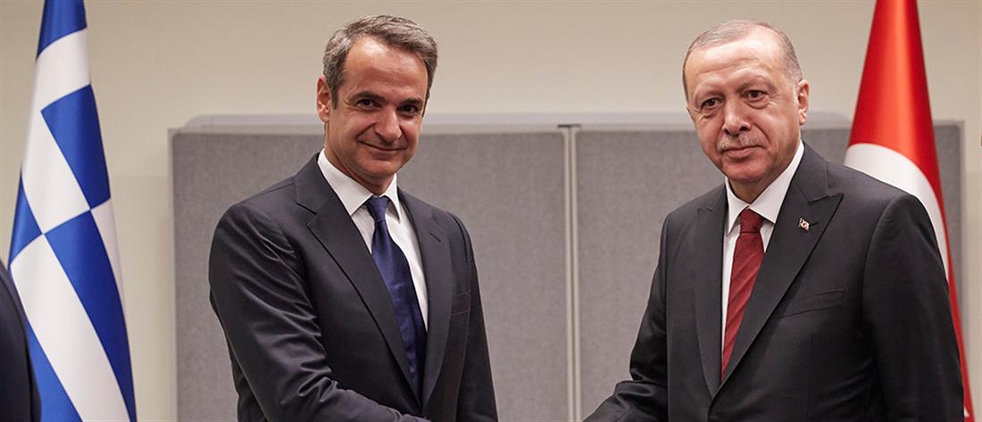 Η ατζέντα της συνάντησης Μητσοτάκη – Ερντογάν