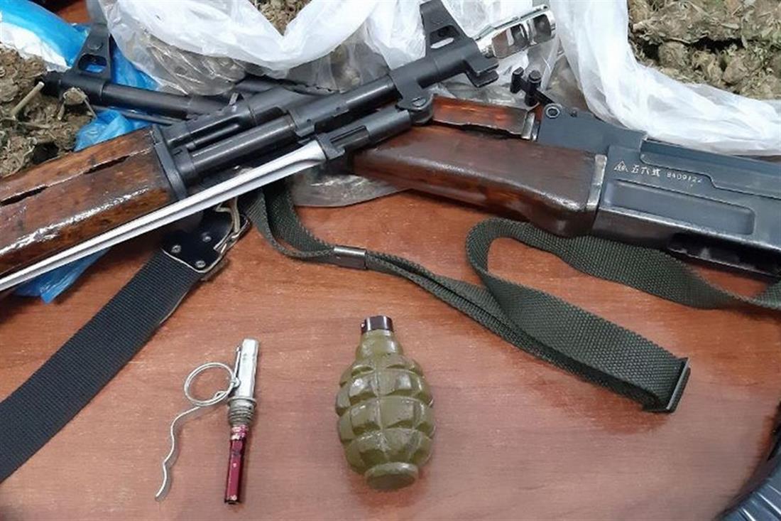 Χερσόνησος - Κρήτη - όπλα - ναρκωτικά
