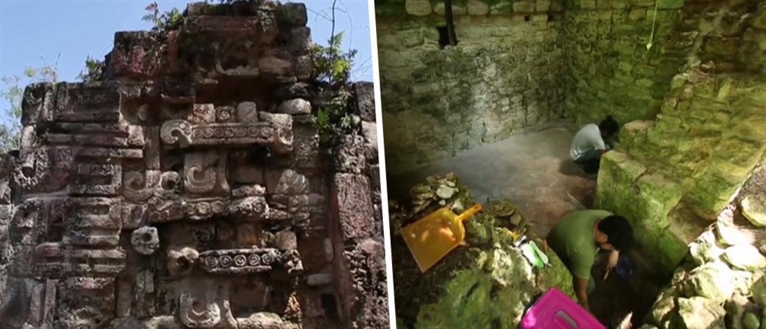 Ανακαλύφθηκε παλάτι των Μάγια (βίντεο)