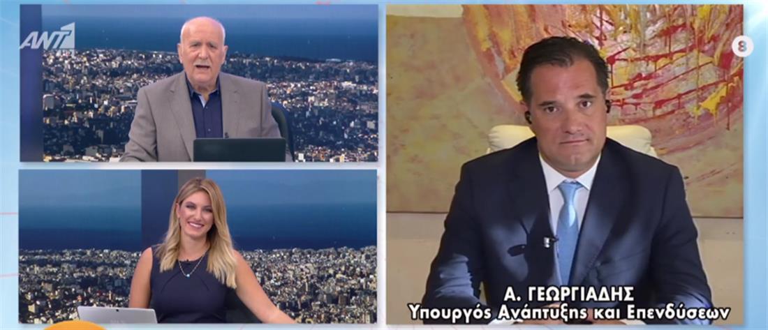 Γεωργιάδης στον ΑΝΤ1: μέσα σε 6 μήνες θα απελαύνονται οι παράνομοι μετανάστες (βίντεο)