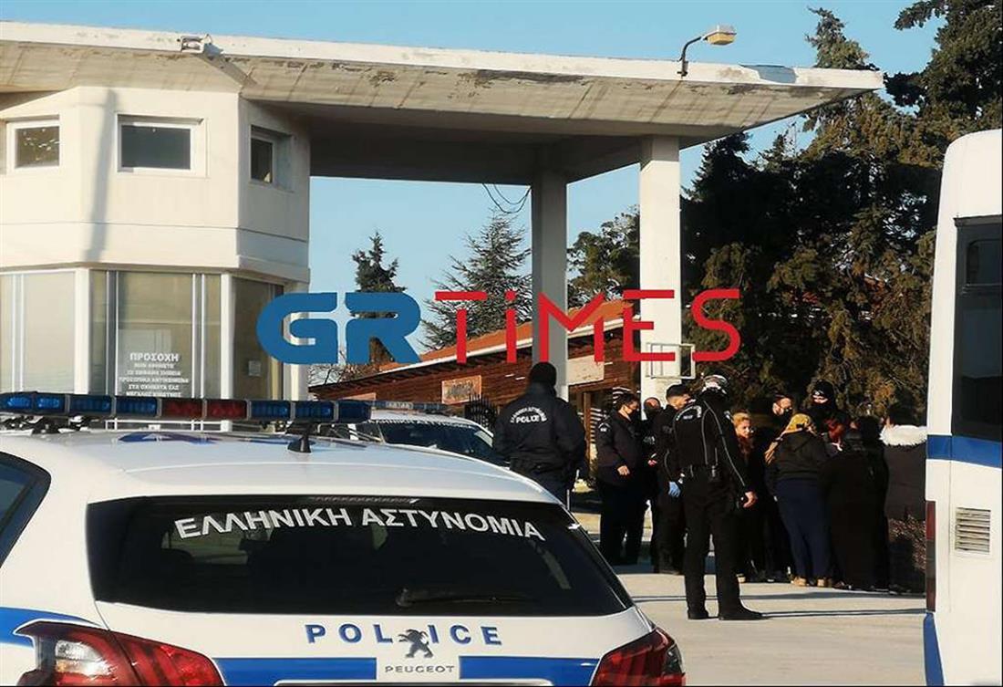 Θεσσαλονίκη - Εύοσμος - κηδεία Ρομά
