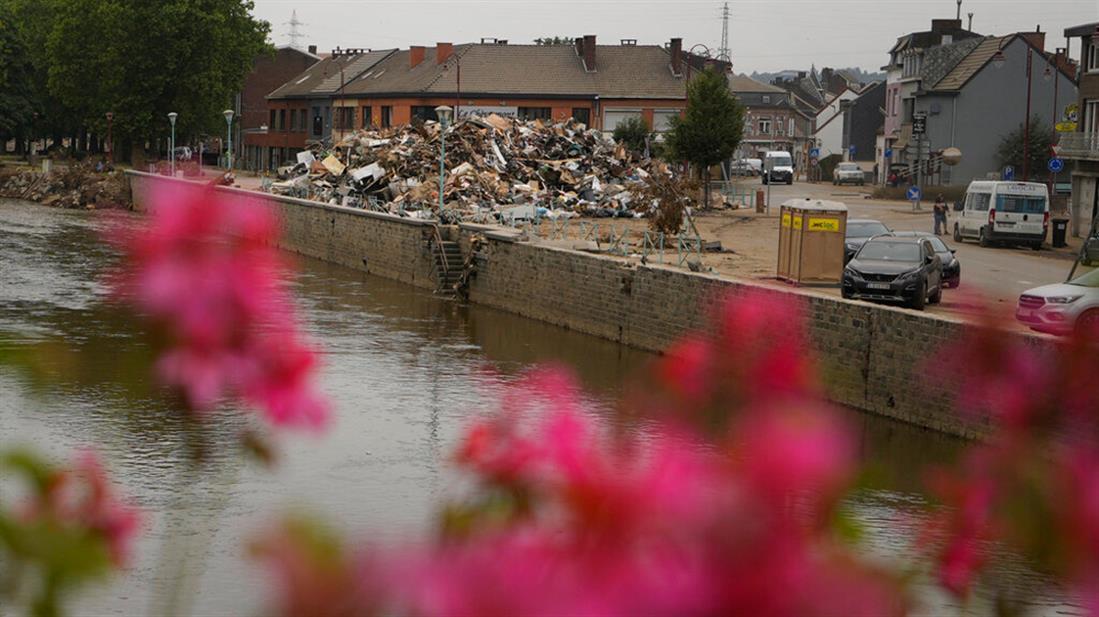 Βέλγιο - πλημμύρες