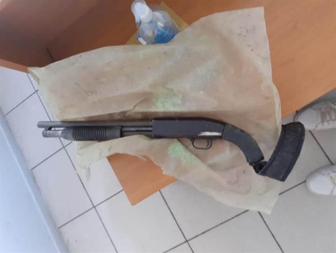 Πιερία - δολοφονία 45χρονου - καραμπίνα - σπίτι