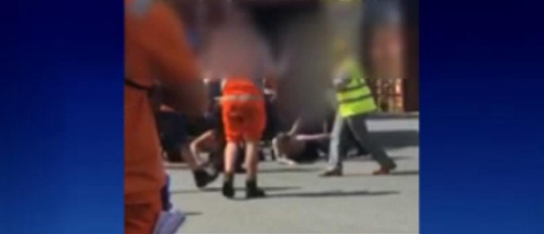 Έμποροι ναρκωτικών εγκλωβίστηκαν μέσα σε κοντέινερ και κάλεσαν την Αστυνομία (βίντεο)