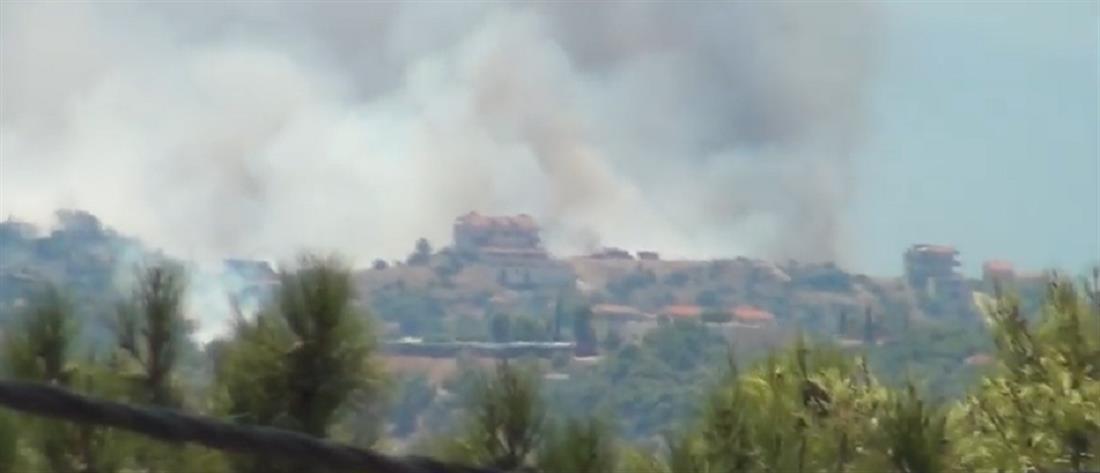 Πυρκαγιά στα Μέγαρα