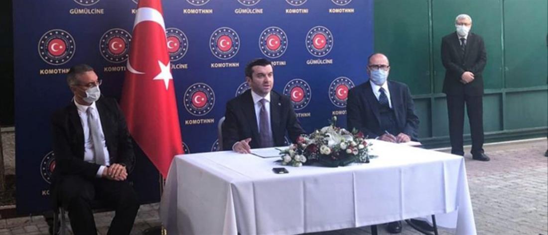 """Θράκη: Προκλητικός ο Τούρκος Υφυπουργός Εξωτερικών σε """"κλειστή"""" συνέντευξη Τύπου"""