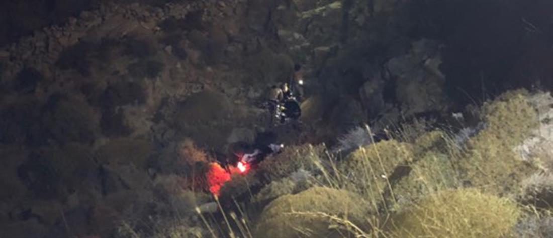 Τραγωδία: νεκρός οδηγός μετά από πτώση φορτηγού σε γκρεμό