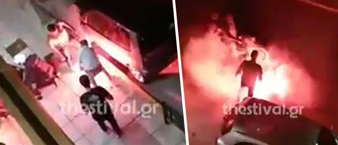 Βίντεο: οπαδός πετά μπουκάλι σε αστυνομικό της ΔΙ.ΑΣ.